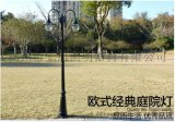揚州弘旭銷售戶外歐式庭院燈景觀燈雙頭三頭公園庭院燈