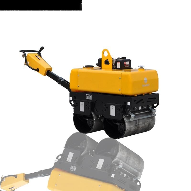 液压转向手扶压路机,双钢轮压路机