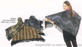 三角大披巾