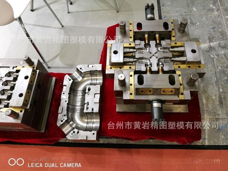 卡扣式PPR管件模具 HDPE三通模具 溝槽式直通模具
