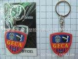 皇冠pvc软胶钥匙扣促销品,体育运动钥匙圈吊饰定制