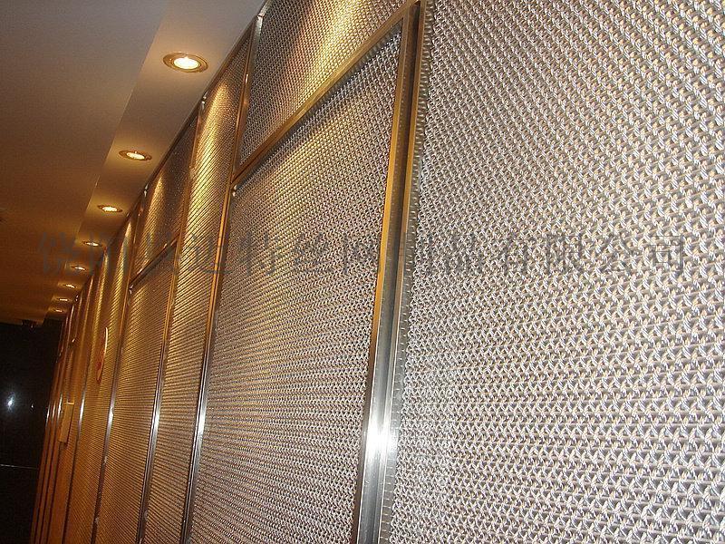 金属网幕墙 壁挂装饰网 电梯装饰网 金属网帘 装饰网隔断