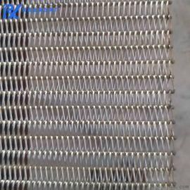 單人字形網帶金屬不鏽鋼耐高溫輸送帶(定制)