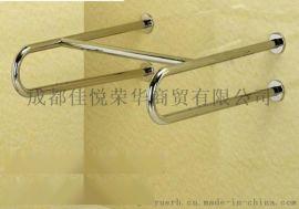 洗手池安装双u连体扶手不锈钢304卫浴扶手