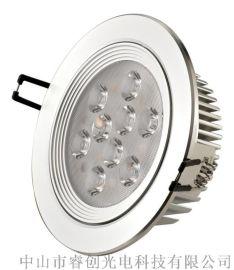 9W无频闪大功率LED天花灯