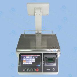 台衡惠而邦X7收银电子秤 U盘储存电子天平 带打印标签电子天平