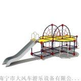 广西南宁小区儿童不锈钢滑梯 南宁儿童滑滑梯大型玩具