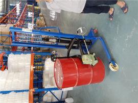 東莞油桶倒料車|油桶翻轉倒料機