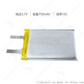 高倍率聚合物锂电池503450 750mAh