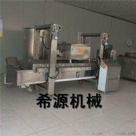 面制品油炸成套设备 面制品油炸生产线