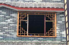 铝花格门窗 铝格栅门窗  铝合金花格窗