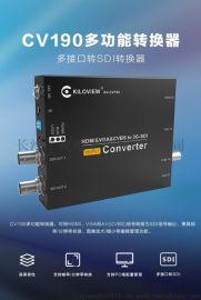 HDMI/VGA/CVBS转SDI转换器-千视电子