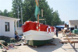 山东济南景观船厂家 大型户外装饰船 风情海盗船