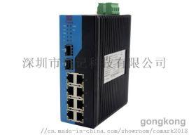 深圳讯记8口网管型工业以太网交换机