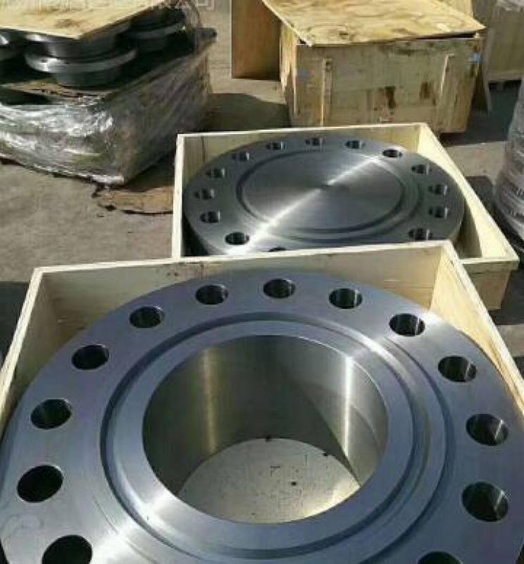 """乾启专注大口径带颈对焊法兰:28""""-WN-150LB-RF-STD ASTM-A105 ASME B16.47B"""