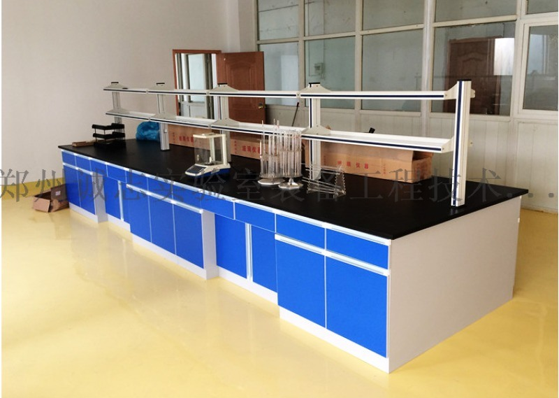 河南科研室實驗室實驗臺,化學實驗臺,鋼木實驗臺
