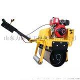 手扶式压路机 振动双钢轮压土机  小型压路机