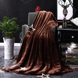 生产批发各类克重的毛毯 珊瑚绒毯批发零售