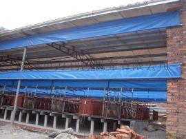 猪栏保暖透光布产业用布牧场pvc保温专用养殖窗帘