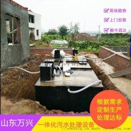 如何管理地埋式污水处理设备的污泥