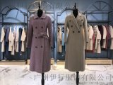 歐路艾米阿爾巴卡雙面呢品牌折扣女裝專櫃過季庫存走份