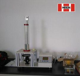 【海绵回弹测试仪】海绵回弹力强度试验落球式橡胶海绵性能试验机