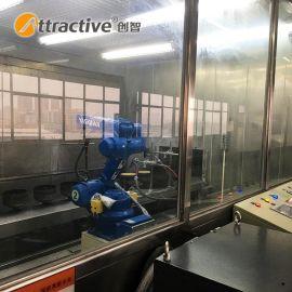 【广东创智】工业涂装设备 自动悬挂喷粉流水生产线