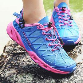 两栖溯溪鞋涉水速干夏季男女情侣款透气网面徒步鞋户外防滑登山鞋