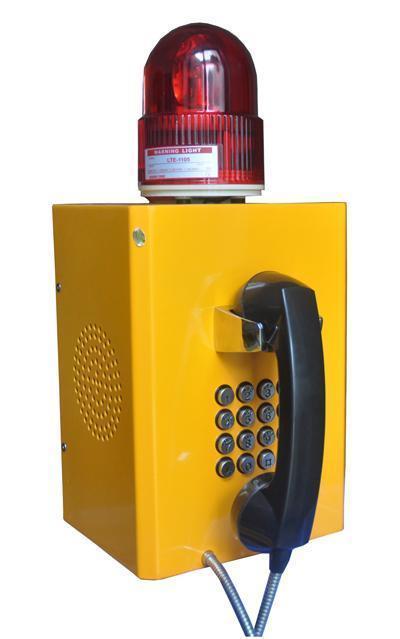 智慧聲光報   機KT-M-KTS1擴音廣播抗噪  機