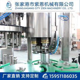 酵素灌装机生产线 全自动液体饮料生产填充线三合一