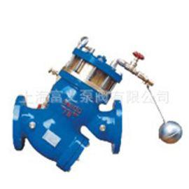 YQ98005过滤活塞式电动浮球阀 DN150 上海标一阀门厂家直销