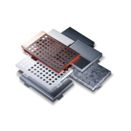 铝单板幕墙装饰材料厂家直营3.0mm氟碳穿孔铝单板
