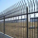 蘭州高新區鋅鋼圍欄網 小區圍欄豎方管鐵藝防護欄杆