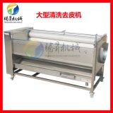 电动毛刷清洗机 新鲜桔梗清洗机 厂家直销 质量保证