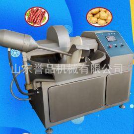 125斩拌机多少钱 千页豆腐设备肉馅斩拌机自动触摸速度可调效果好