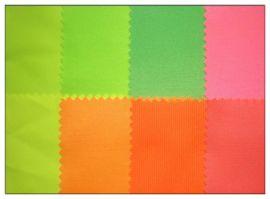 涤棉交织布(涤盖棉) 荧光色布