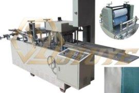 全自动无纺布压花折叠机,300高速全自动折叠机