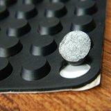 3M自粘硅橡胶介子垫片 环保密封硅胶垫圈 防滑脚垫
