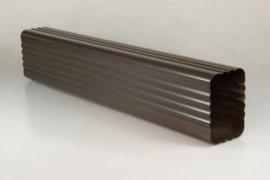 彩铝落水系统,彩铝天沟,成品檐沟,方形雨水管