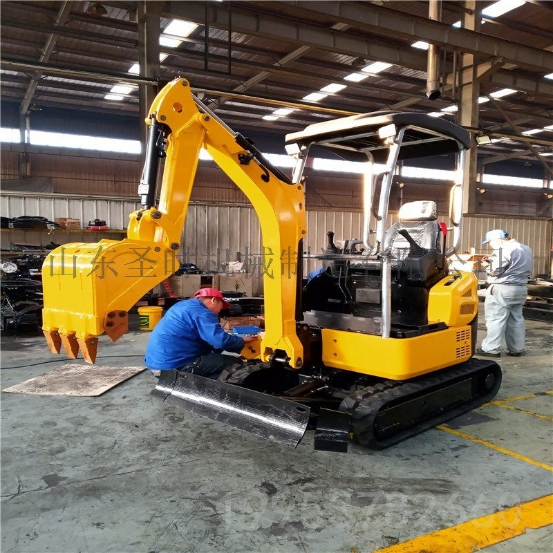 养殖场挖掘机厂家 小型挖挖机 路面修复小型挖掘机