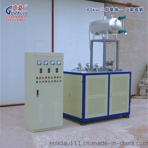厂家直销【广益】 60kw三炉联体 导热油炉
