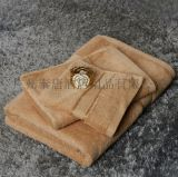 16S染色缎档毛巾(三件套)  泰唐酒店用品 供应商