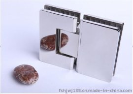 佛山淋浴房五金厂家海量批发精美欧式不锈钢玻璃铰链玻璃固定夹