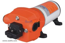 厂家批发 自来水增压泵 短款防震无泄漏RV水泵 直流电动高压泵