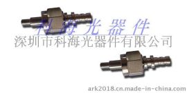 SMA多模光纤连接头 光纤连接器散件 SMA906多模金属插芯连接头