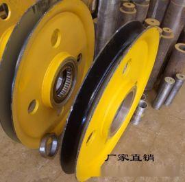 起重机滑轮图片 16t铸钢滑轮组标准 吊钩滑轮组 电动葫芦滑轮