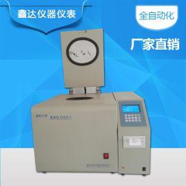 检测木屑颗粒热值仪器 鑫达XDLR-6全自动量热仪