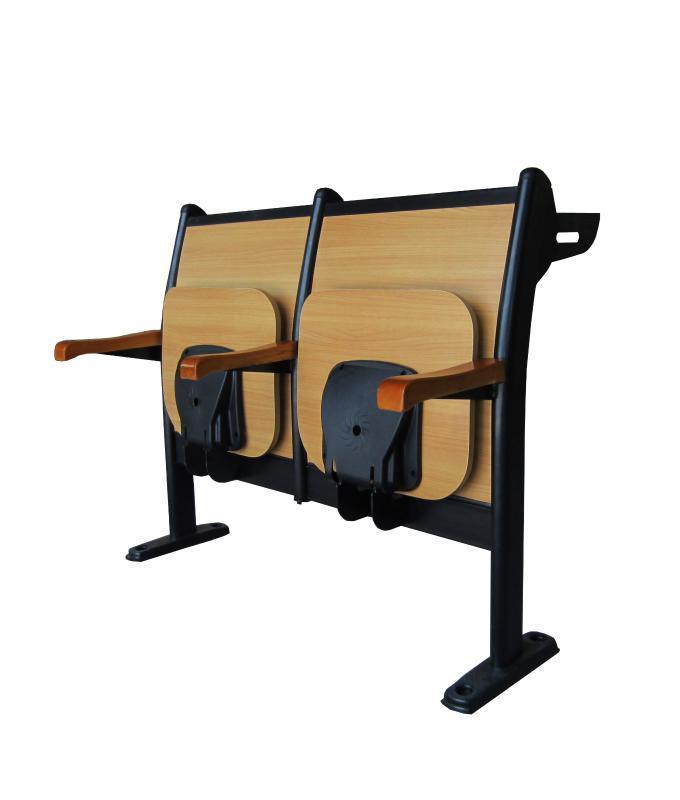 连排课桌椅阶梯课桌椅多媒体课桌椅排椅 DC-201BF