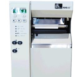 斑马 ZEBRA 105SL PLUS 300dpi 工业型条码打印机 标签机