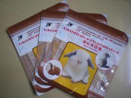 长久宠物同款厂家生产兔兔子天竺鼠宠物饲料自立彩印包装袋